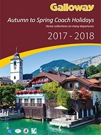 Autumn to Spring 2017 - 2018 coach holiday brochure