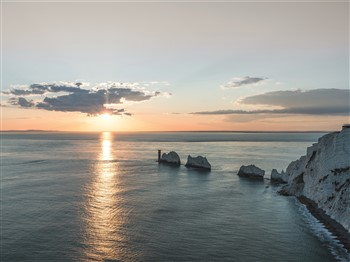 The Needles landmark in the Isle of Wight