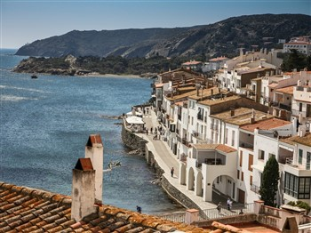 Buildings in Cadaques