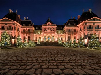 French Chateaux at Christmas Time