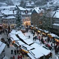 Liege & Monschau Christmas Markets