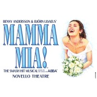Mamma Mia at Novello Theatre