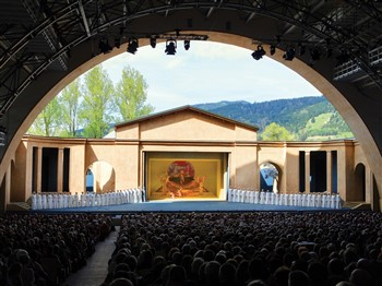 Passion Play theatre in Oberammergau
