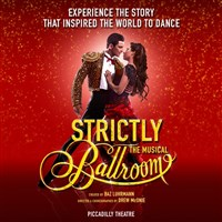 Strictly Ballroom at Piccadilly Theatre