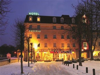 Hotel Walram, Valkenburg in the snow