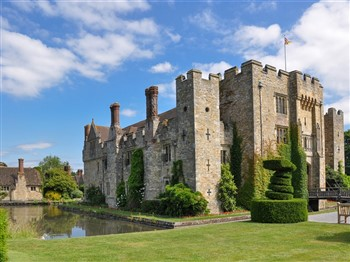 Hever Castle at Easter