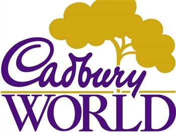 Cadbury World logo in purple
