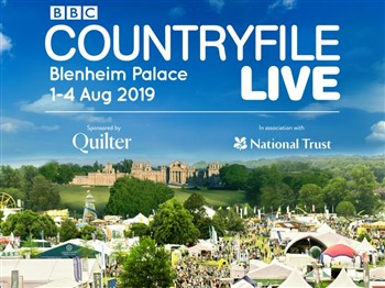 BBC Countryfile heading with picture of people at a show