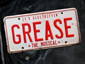Logo for Grease the Musical