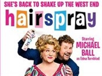 Theatre logo for Hairspray