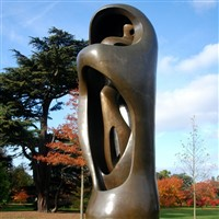 Henry Moore at Houghton Hall