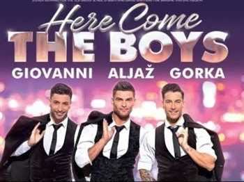 Aljaz, Giovanni and Gorka, the stars of the show