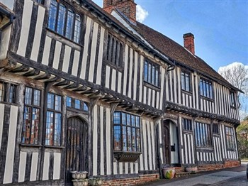 Historical building in Lavenham