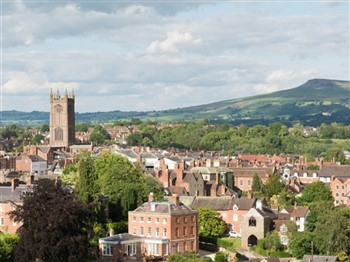 Ludlow & the county of Shropshire