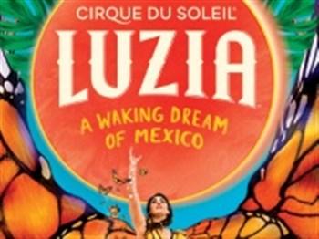 Logo for Cirque du Soleil: Luzia
