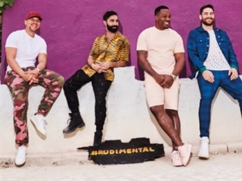 An image of the band, Rudimental