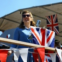 Salute to the 40s at Chatham Dockyard