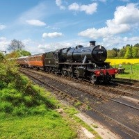 Steam Trains, Grand Union Canal & Midland Memories