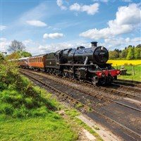 Easter on board Steam Trains & Grand Union Canal