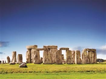 Stonehenge in springtime