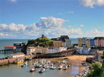 Tenby is South West Wales's main holiday resort and is always a pleasant and friendly place to visit