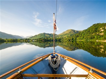 View of Ullswater Lake from Ullswater steamer