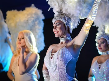 Dancers at the Spirit of Christmas show Blackpool