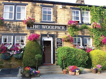 The Woolpack pub from Emmerdale TV programme