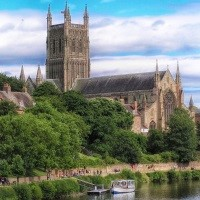 Easter in Worcester, Hereford, Stratford Upon Avon