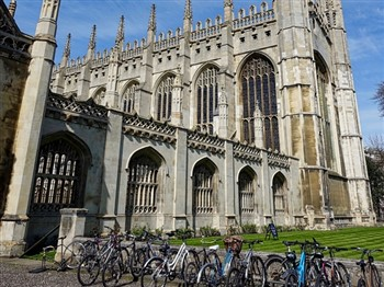 Kings College Chapel at Cambridge University